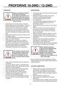 PROFDRIVE 10-2WD / 12-2WD - Farmi Forest - Page 6