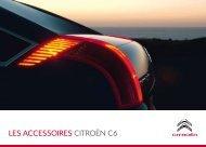 LES ACCESSOIRES CITROËN C6 - Groupe Dallard