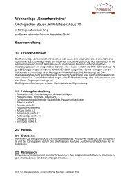 Baubeschreibung als PDF