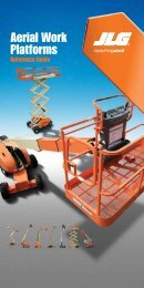 AWP Reference Guide from JLG Industries Inc. - NFMT