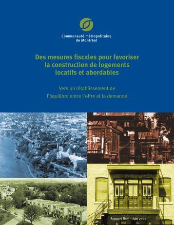 Des mesures fiscales pour favoriser la construction de logements ...