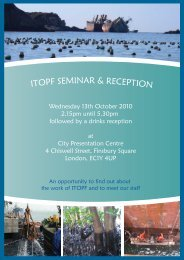 Seminar Programme - ITOPF
