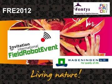 Floriade 2012 - Field Robot Event