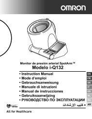 Modelo i-Q132 - Omron Healthcare