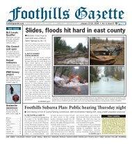 Gazette Vol 4 #6.indd - Foothills Gazette
