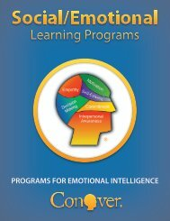 Why Social/Emotional Learning? - Conover Company
