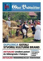 Glas Budinščine br. 7 - Općina Budinščina