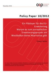 Policy Paper 10/2012 (Dez.12) - Oiip