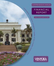 FINANCIAL REPORT - City Of Ventura
