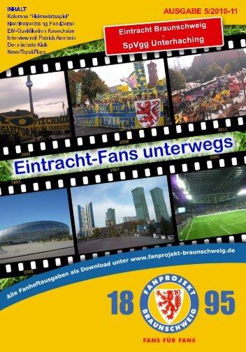 Heft 05: SpVgg Unterhaching - FanPresse Braunschweig