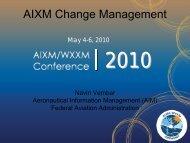 AIXM Configuration Management