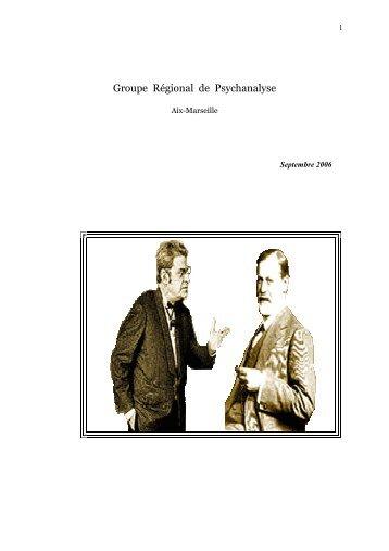 Septembre 2006 - groupe régional de psychanalyse