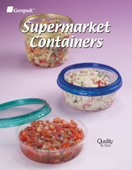 Supermarket Containers - Clear Containers For ... - Genpak