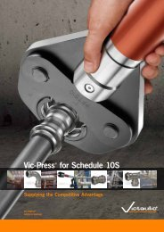 vic-Press® for Schedule 10S - Victaulic