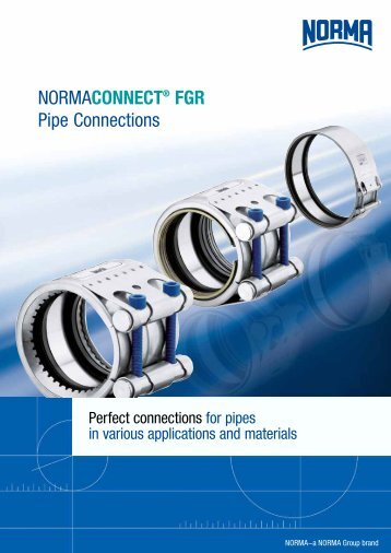 NormaConneCt® FGR Pipe Connections