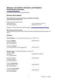 Förteckning över skolor och förskolor i Kristinehamns kommun