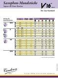 Saxophon-Mundstücke Sopran-Alt-Tenor-Bariton - vandoren - Page 2