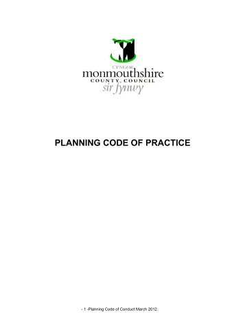 Code of Conduct Revised March 2012 with Council Revisions