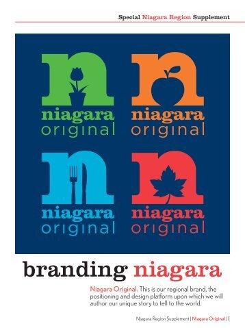 branding niagara - Niagara Original