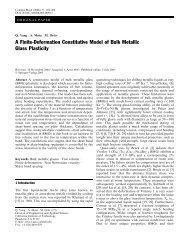 A Finite-Deformation Constitutive Model of Bulk Metallic Glass ...