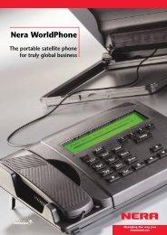 Nera WorldPhone - GMPCS Personal Communications Inc.
