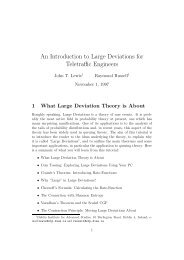 An elementary introduction to large deviations