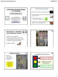 Strategie per migliorare l'attenzione - Cristina Menazza (pdf)