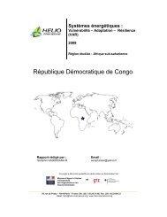 République Démocratique de Congo - HELIO International