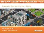 Microsoft Citizen Service Platform - EPMA