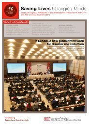 q2 East Asia Regional Newsletter of the IFRC