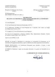 Lire la décision - Région Poitou-Charentes