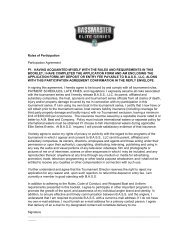 2013 Official Rules - Bass