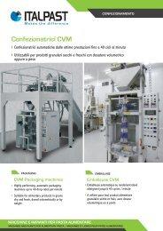 Confezionatrici CVM - Italpast