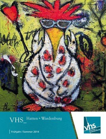 Aktuelles Programmheft Hatten und Wardenburg - Volkshochschule ...