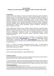 Seletuskiri - Eesti Kaubandus-Tööstuskoda