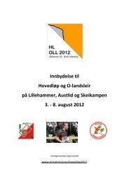 Innbydelse - Norges orienteringsforbund