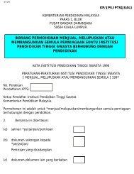 KP/JPS.IPTS[JUAL] - Jabatan Pengajian Tinggi