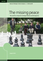 The missing peace - Saferworld