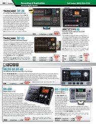 BR-1200CD BR-800 MICRO BR BR-80 DP-03 R8 DP-24 - medialink ...