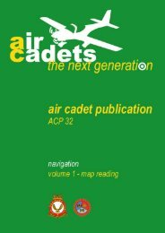 ACP 32 Volume 1 – Map Reading - 967 Air Cadets