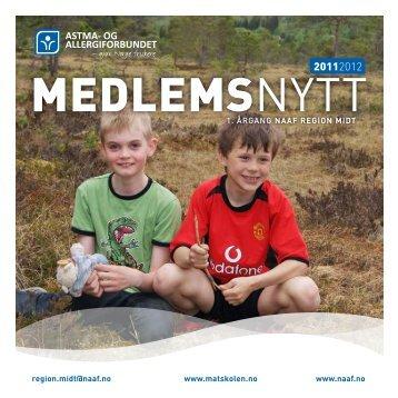 Medlemsnytt, pdf - Norges Astma- og Allergiforbund