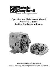 WAUKESHA Manuale Inglese AP2 - Asco Pompe Srl