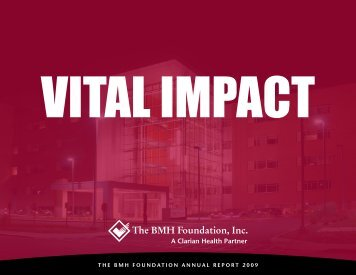 The BMH Foundation, Inc. - IU Health