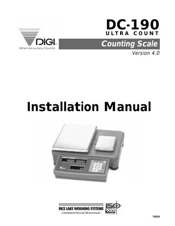 dc 190 ultra count installation manual rice lake weighing systems?quality=80 avery weigh tronix service manual 28 images avery weigh tronix  at panicattacktreatment.co