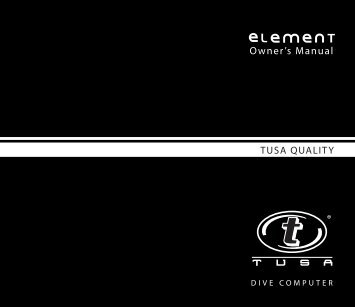 TUSA IQ-650 ELEMENT COMPUTER MANUAL 12-2917-r02