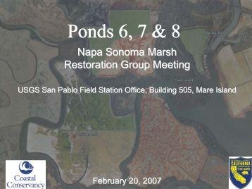 Item 5 - Ponds 6, 7 & 8 - Napa/Sonoma Marsh Restoration Project