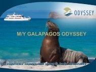 M/Y GALAPAGOS ODYSSEY - World Travel Market