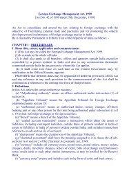Foreign Exchange Management Act.pdf - Торгпредство / Trade ...