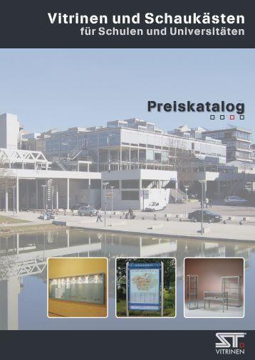 PDF Preiskatalog - ST-Vitrinen