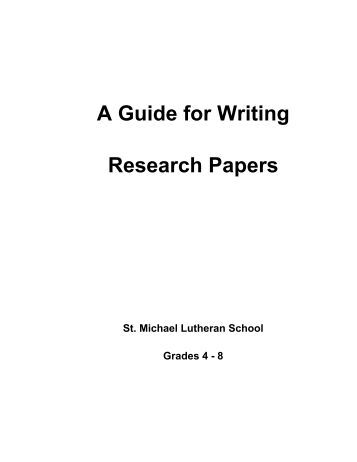 guide to outlining a research paper This resource describes why outlines are useful, what types of outlines exist, suggestions for developing effective outlines, and how outlines can be used as an invention strategy for writing.
